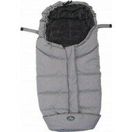 BO Jungle - Sac de dormit pentru carucior cu interior fleece, Gri