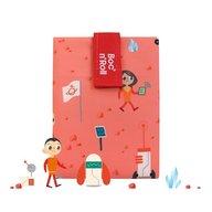 Roll'Eat - Ambalaj reutilizabil pentru sandwich Boc'n'Roll Kids Space, Portocaliu