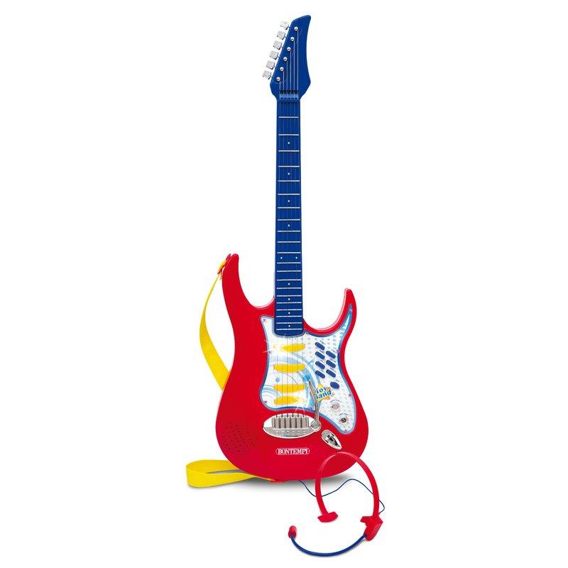 Bontempi Chitara electronica cu micro-casca din categoria Instrumente muzicale de la Bontempi