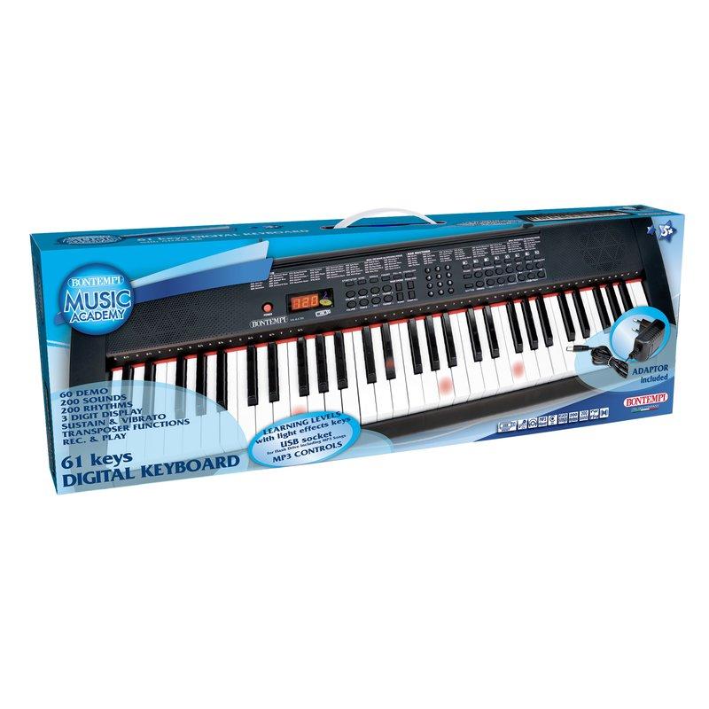 Bontempi Orga digitala MIDI cu 61 clape din categoria Instrumente muzicale de la Bontempi