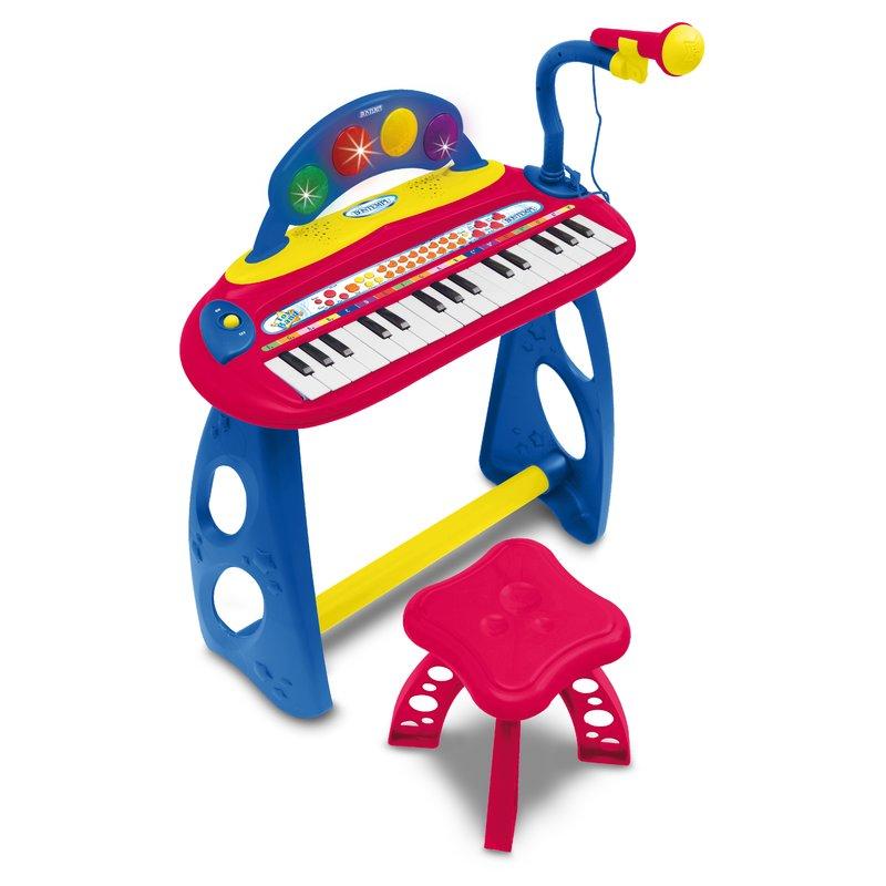 Bontempi Orga electronica cu 31 clape microfon si scaunel din categoria Instrumente muzicale de la Bontempi