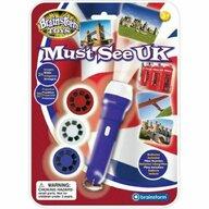 Brainstorm Toys - Proiector obiective turistice Marea Britanie
