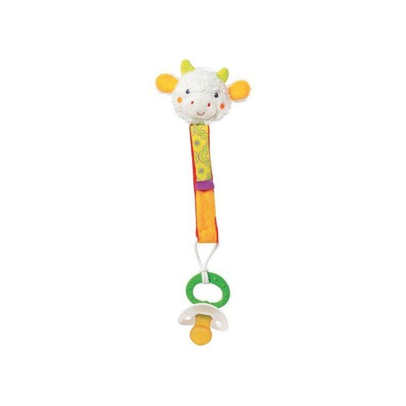 Brevi Soft Toys Curelusa portsuzeta Vacuta din categoria Suzete si accesorii de la Brevi Soft Toys