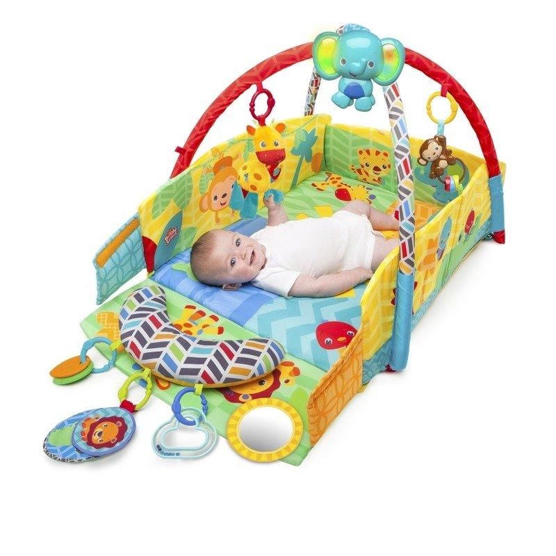52157 Salteluta de joaca 5 in 1 Sunny Safari Baby's Play Place™ din categoria Centre de activitati de la Bright Starts