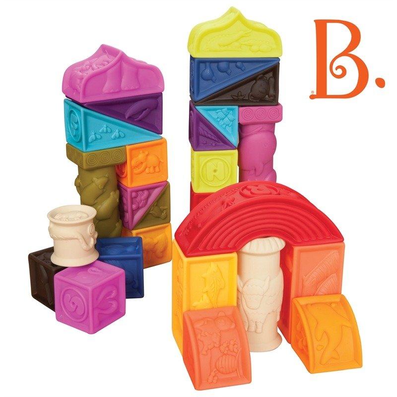 B.Toys 26 Cuburi moi din categoria Seturi constructii si cuburi de la B.Toys