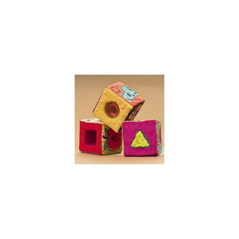 B.Toys Set 6 cuburi plus ABC din categoria Seturi constructii si cuburi de la B.Toys