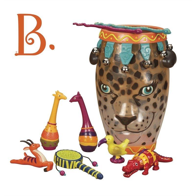 B.Toys Toba leopard din categoria Instrumente muzicale de la B.Toys