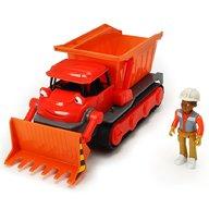 Dickie Toys - Buldozer Bob Constructorul Action Team Muck cu 1 figurina Leo
