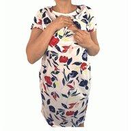 Deseda - Camasa de alaptat Flori stilizate