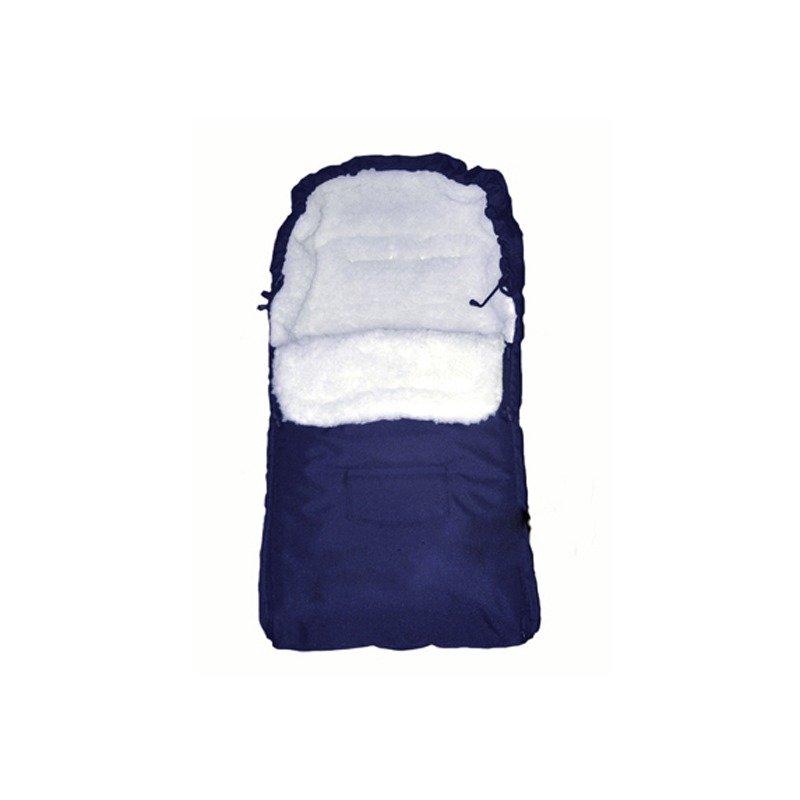 Camicco - Sac de iarna pentru carucior cu interior din lana pentru 0-3 ani albastru