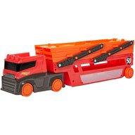 Hot Wheels - Camion Mega transportator Cu trailer by Mattel