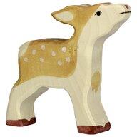 Holztiger - Figurina Caprioara Din lemn de artar si fag