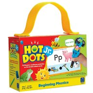 Educational Insights - Jucarie interactiva Carduri Hot Dots Fonetica pentru incepatori
