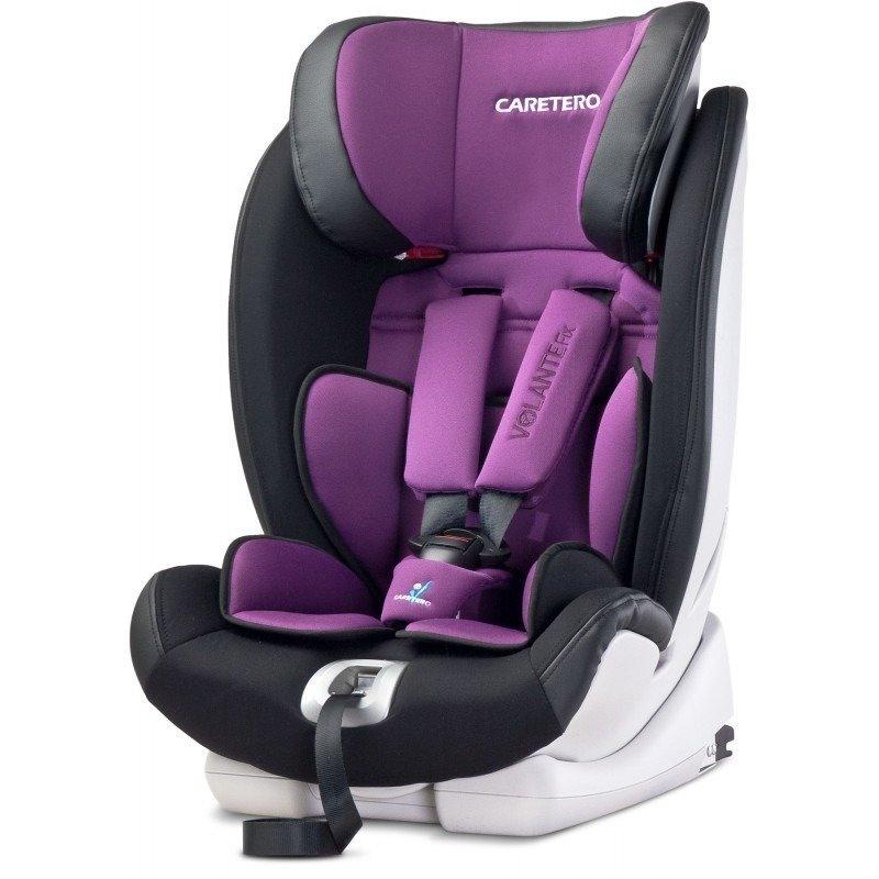 Caretero Scaun auto 9-36 Kg VOLANTEFix ISOFIX Purple din categoria Scaune auto copii de la CARETERO