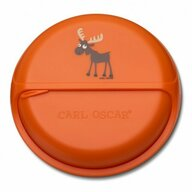 Carl Oscar - Caserola compartimentata SnackDisc, Orange