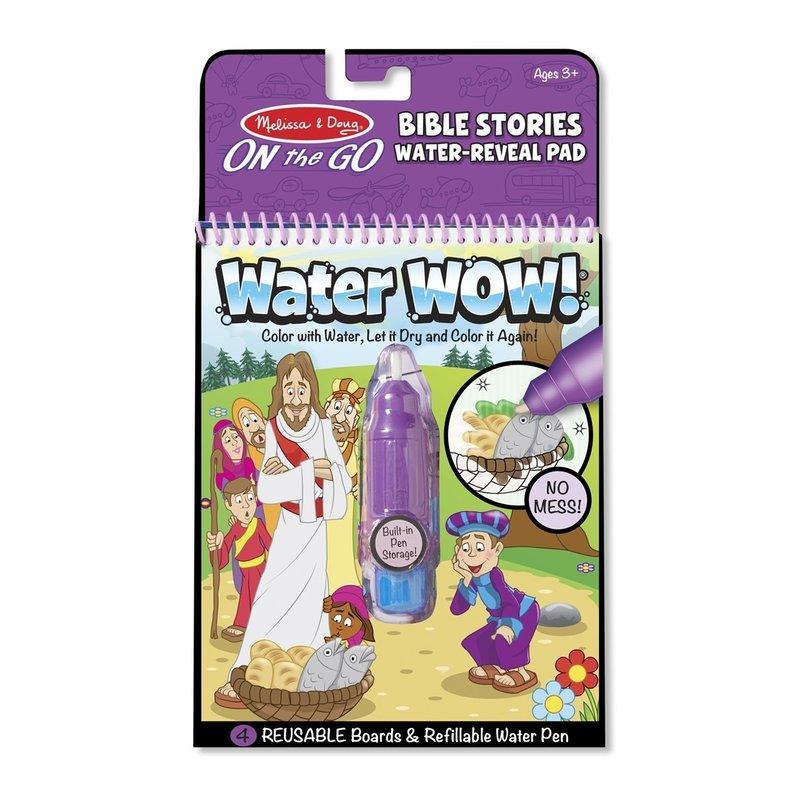 Melissa and Doug carnet de colorat apa magica cu povesti din Biblie din categoria Pictura si desen de la Melissa & Doug