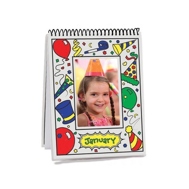 Melissa and Doug carnet de colorat lunile anului din categoria Carti de colorat de la Melissa & Doug