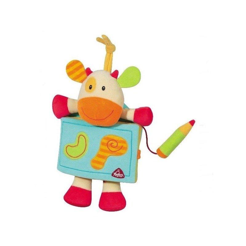 Carte – Album Vacuta – Brevi Soft Toys din categoria Jucarii de plus de la Brevi Soft Toys