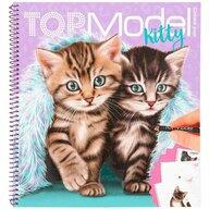 Depesche - Carte de colorat Pisici Top Model