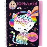Depesche - Carte de colorat Magic Scratch Top Model