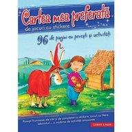 Corint - Cartea mea preferata de jocuri cu stickere