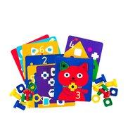 Edx Education - Set creativ Carti de activitate Pentru jocul surub si piulita