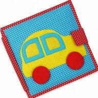 Jolly Designs - Carti educative din fetru cu activitati pentru bebelusi si copii Quiet books - The Fast Car