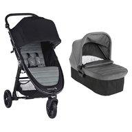 Baby Jogger - Carucior City Mini GT2, sistem 2 in 1, Slate