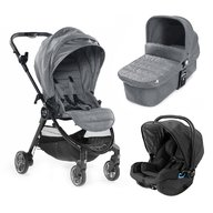 Baby Jogger - Carucior City Tour Lux Sistem 3 in 1, Slate