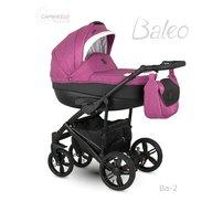Camarelo - Carucior copii 2 in 1 Baleo 2019 Ba-2, Roz/Negru