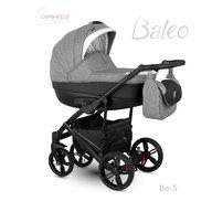 Camarelo - Carucior copii 2 in 1 Baleo 2019 Ba-5, Gri/Negru