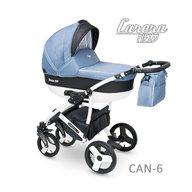 Camarelo - Carucior copii 2 in 1 Carera New Can-6, Albastru