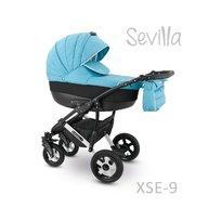 Camarelo - Carucior copii 2 in 1 Sevilla Xse-9, Albastru