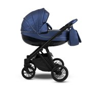 Camarelo - Carucior copii 2 in 1 Zeo Eco zeo-eco3, Albastru