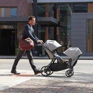 Baby Jogger - Carucior gemeni City Select Lux Sistem 2 in 1, Port
