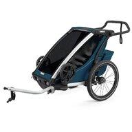 Thule - Carucior sport Chariot Cross Multisport Majolica, Albastru