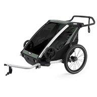 Thule - Carucior gemeni sport Chariot Lite 2 Multisport Agave