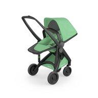 Greentom - Carucior sport 100% Ecologic Reversible, Negru/Verde