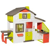 Smoby - Casuta pentru copii Friends Playhouse Neo Cu bucatarie