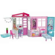 Barbie - Casuta pentru papusi  Cu accesorii by Mattel