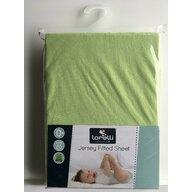 Lorelli - Cearceaf Jersey 60/120 cm Green