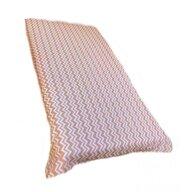 Deseda - Cearsaf cu elastic roata cu imprimeu Zig-zag pe bej-120*60 cm