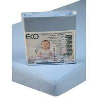 EKO - Protectie impermeabila Cu elastic din Bumbac, 120x60 cm, Albastru