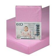 EKO - Protectie impermeabila Cu elastic din Bumbac, 120x60 cm, Roz