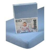 EKO - Protectie impermeabila Cu elastic din Bumbac, 140x70 cm, Albastru