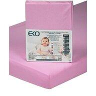 EKO - Protectie impermeabila Cu elastic din Bumbac, 140x70 cm, Roz