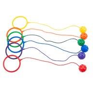 Edx Education - Jucarie de echilibru Cercuri pentru glezna 6 buc
