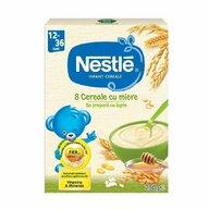 Nestle - Cereale pentru copii, 8 cereale cu miere, 250g
