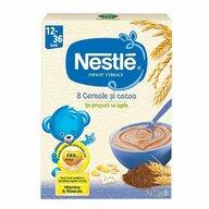 Nestle - Cereale pentru copii, 8 cereale si cacao, 250g