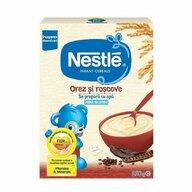 Nestle - Cereale pentru copii, orez si roscove, 250g